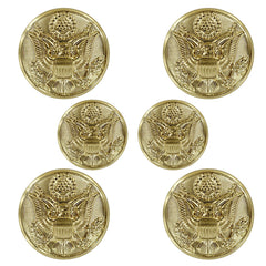 Army Button Set: Eagle 4x30 ligne and 2x25 ligne