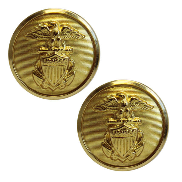 USNSCC /NLCC Button: 35 Ligne Gold