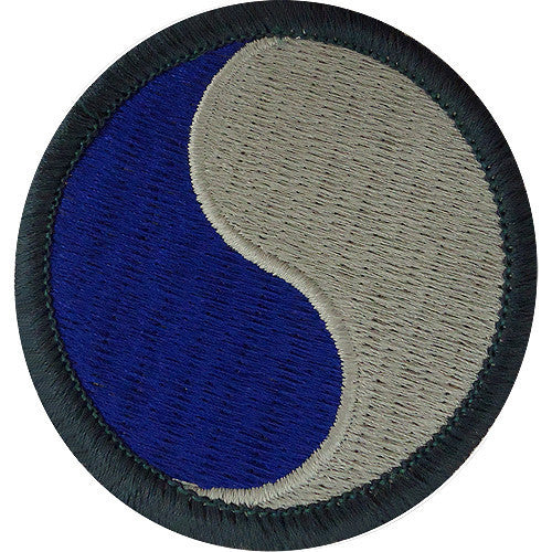 Army Patch: 29th Infantry Division - color