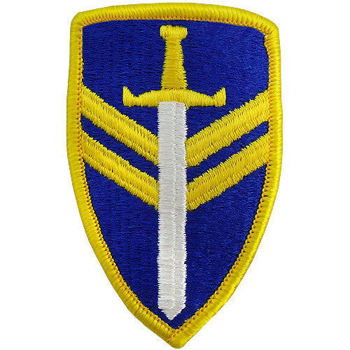 Army Patch: Second Support Command - color