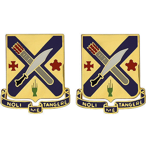 Army Crest: Second Infantry Regiment - Noli Me Tangere