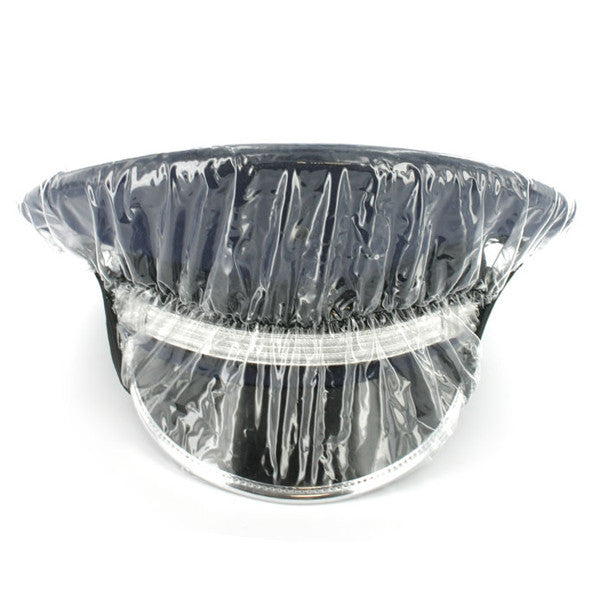 Rain Cap Cover - clear with visor