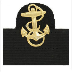 Navy Cap Device: Midshipman - mounted