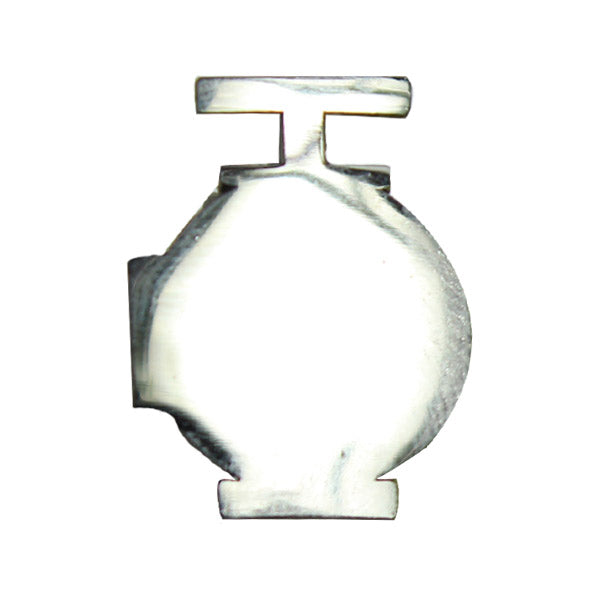 Navy Ball Cap Device - Mirror Finish: Utilities Man