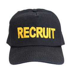 NSCC / NLCC Recruit Ball Cap - Black with adjustable back