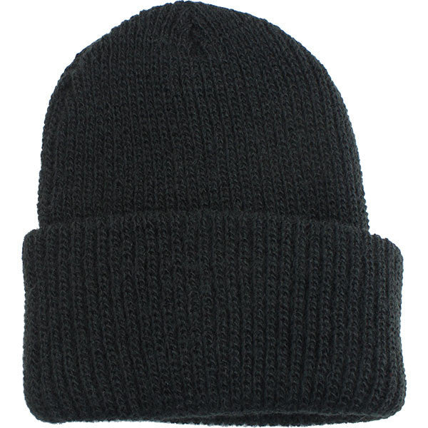 Navy Watch Cap: Black - acrylic