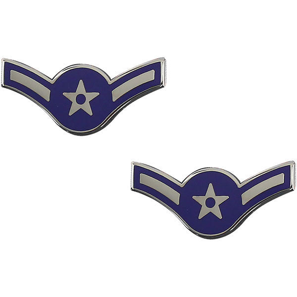 Air Force Metal Chevron: Airman