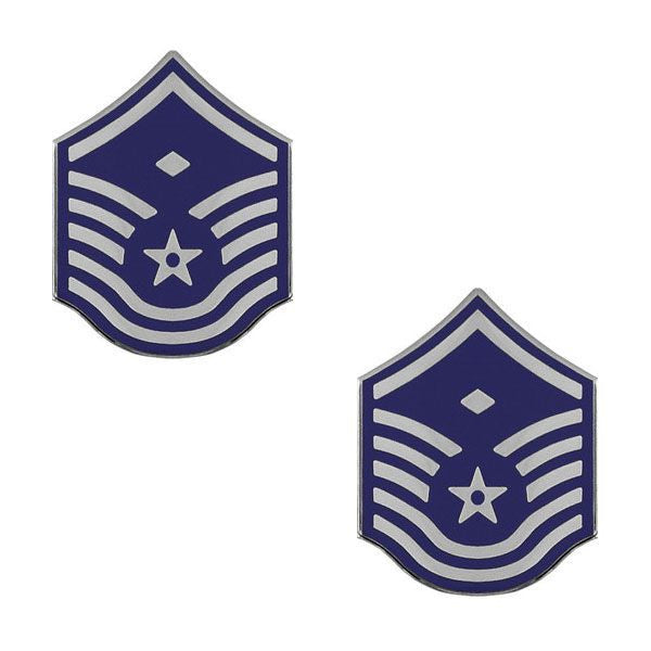 Air Force Metal Chevron: Master Sergeant: First Sergeant