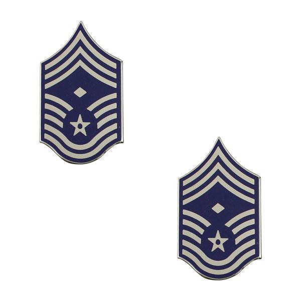 Air Force Metal Chevron: Chief Master Sergeant: First Sergeant