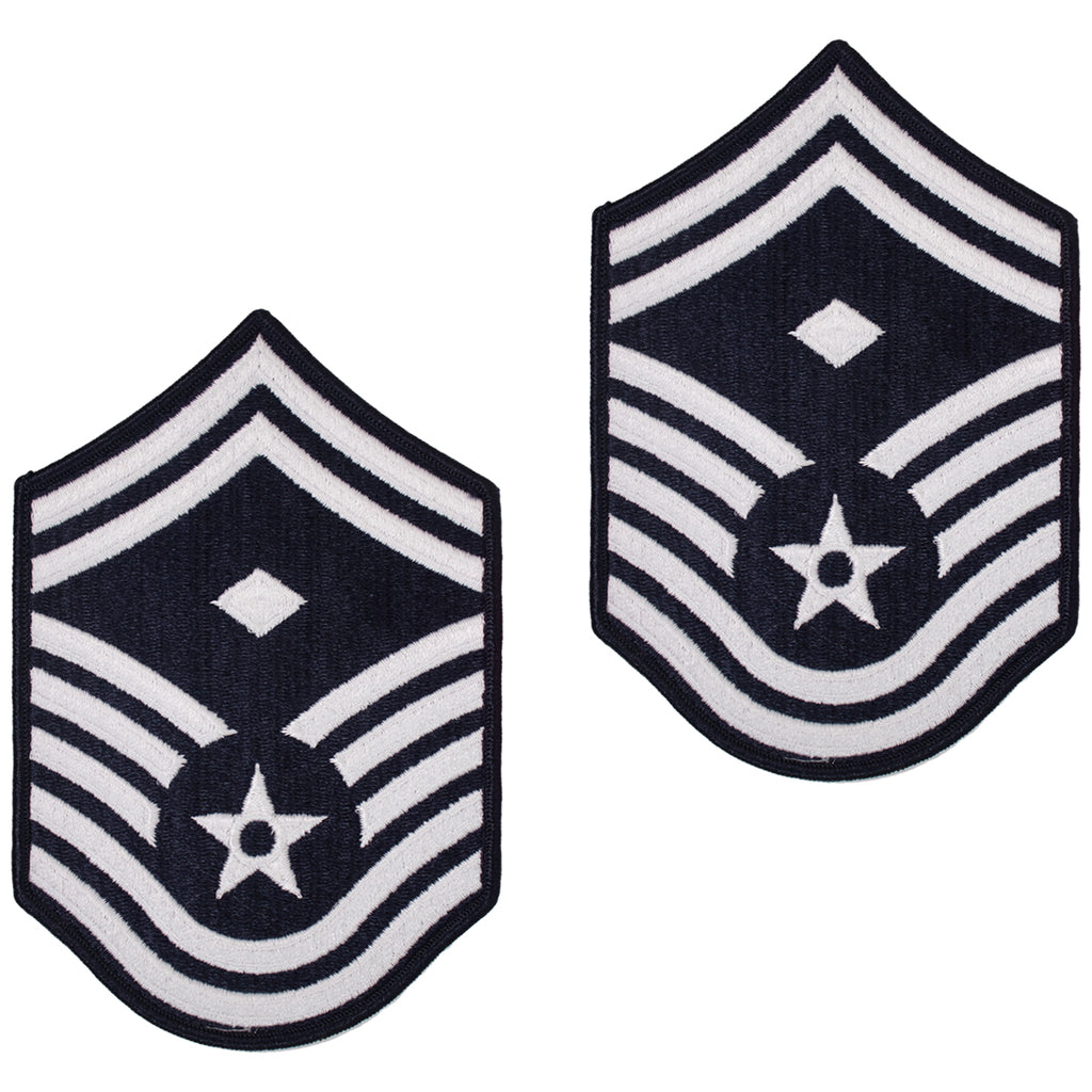 Air Force Chevron: Senior Master Sergeant: First Sergeant - large color