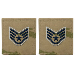 Space Force Embroidered Rank: Sergeant - OCP with hook