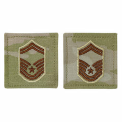 Air Force Embroidered Rank: Senior Master Sergeant - OCP with hook