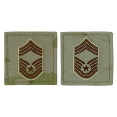 Air Force Embroidered Rank: Chief Master Sergeant - OCP with hook