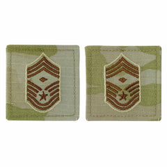 Air Force Embroidered Rank: Chief Master Sergeant with Diamond - OCP with hook