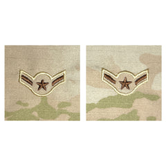 Air Force Embroidered Rank: Airman - OCP sew on