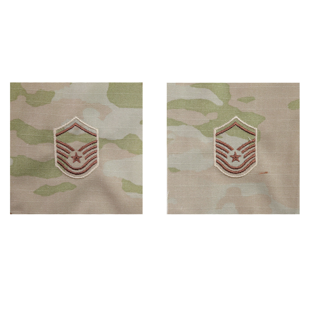 Air Force Embroidered Rank: Master Sergeant - OCP Sew on