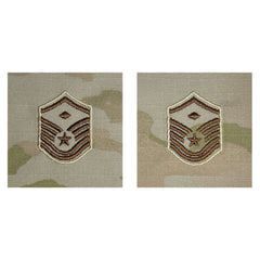 Air Force Embroidered Rank: Master Sergeant with Diamond - OCP Sew on