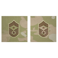 Air Force Embroidered Rank: Chief Master Sergeant with Diamond - OCP Sew on