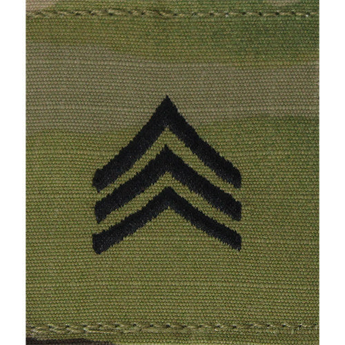 Army Gortex Rank: Sergeant - OCP  jacket tab