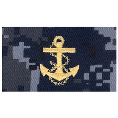 USNSCC / NLCC - Midshipman Collar Device on Blue Digital Embroidered