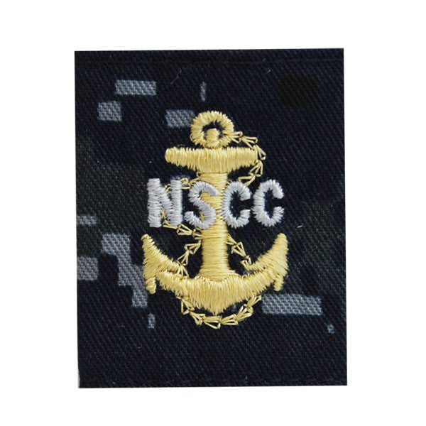 NSCC CPO Parka Tab Blue Digital Embroidered