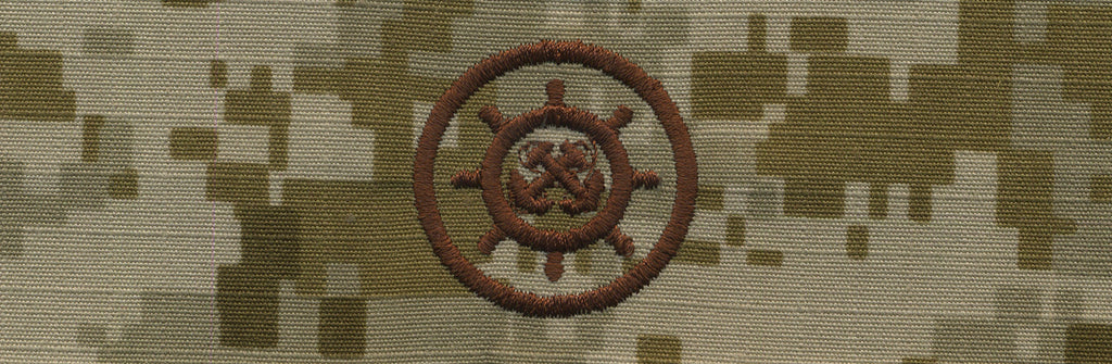 Navy Embroidered Badge: Craftmaster - Desert Digital