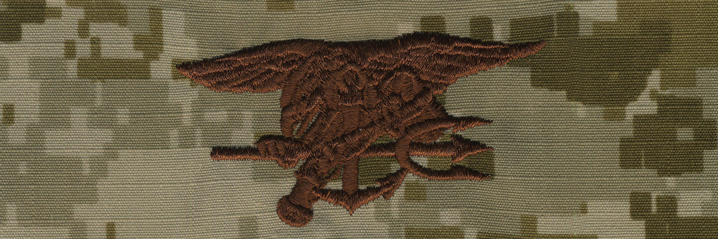 Navy Embroidered Badge: Special Warfare - Desert Digital