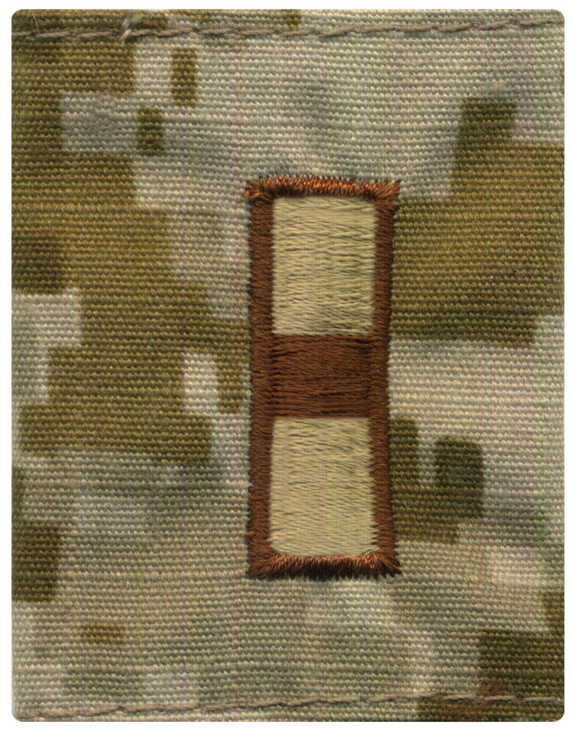 Navy Parka Tab Device: Desert Digital Embroidered WO1 Warrant Officer