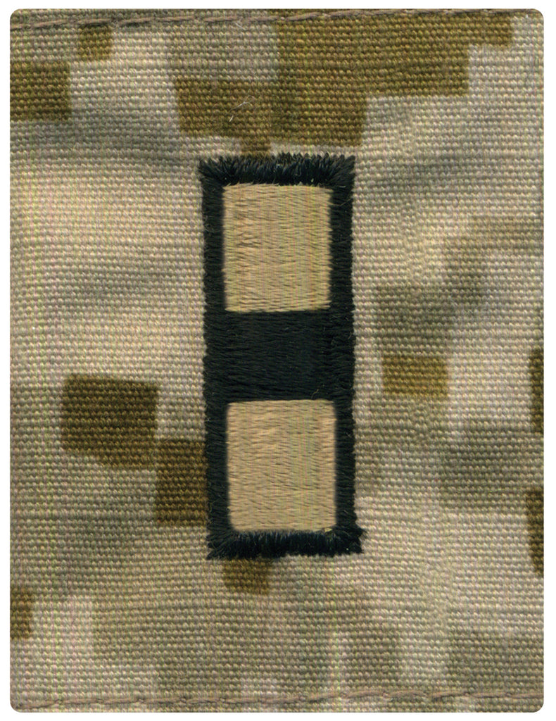 Navy Parka Tab Device: Desert Digital Embroidered WO3 Warrant Officer