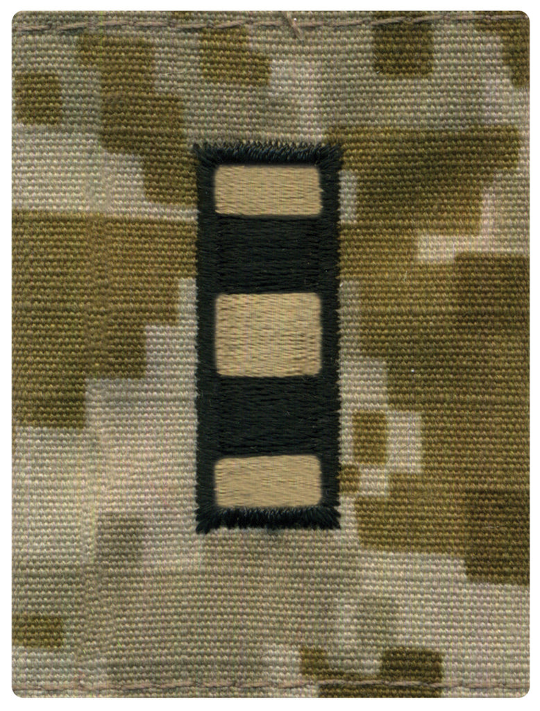 Navy Parka Tab Device: Desert Digital Embroidered WO4 Warrant Officer