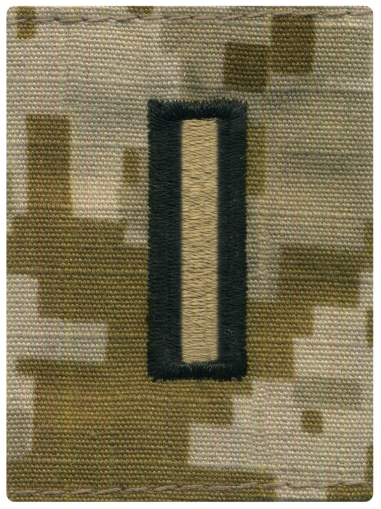 Navy Parka Tab Device: Desert Digital Embroidered WO5 Warrant Officer