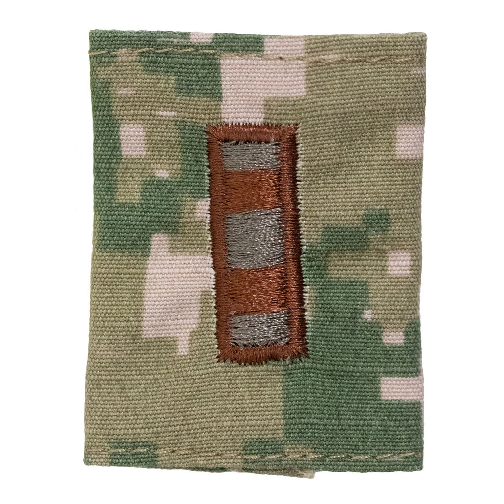 Navy Parka Tab Device: Woodland Digital Embroidered WO2 Warrant Officer