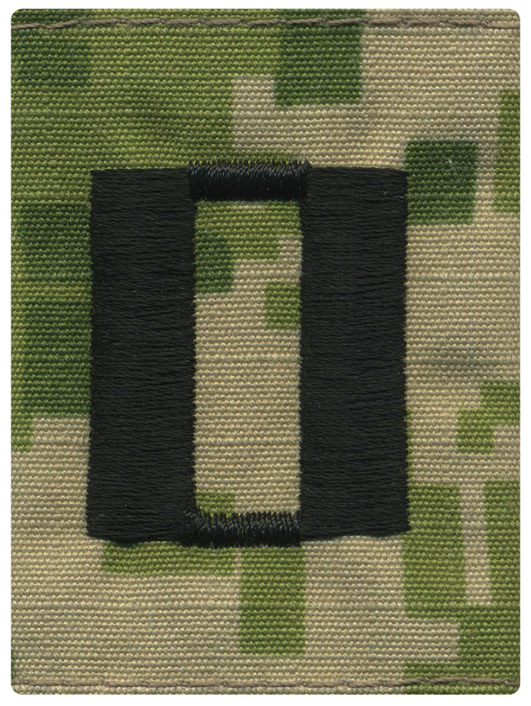 USNSCC / NLCC - LT Lieutenant Parka Tab Embroidered on Type III