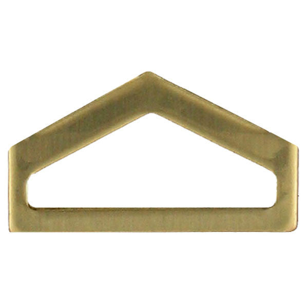 Army ROTC Chevron: Private First Class - brass