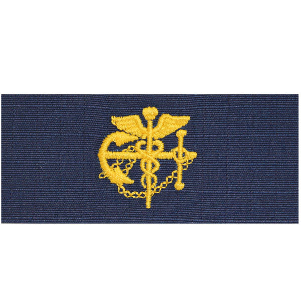Coast Guard Embroidered Collar Device: PHS - Ripstop fabric