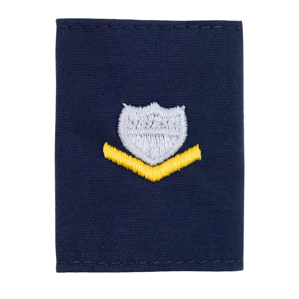 Coast Guard Embroidered Parka Tab: E4 Petty Officer
