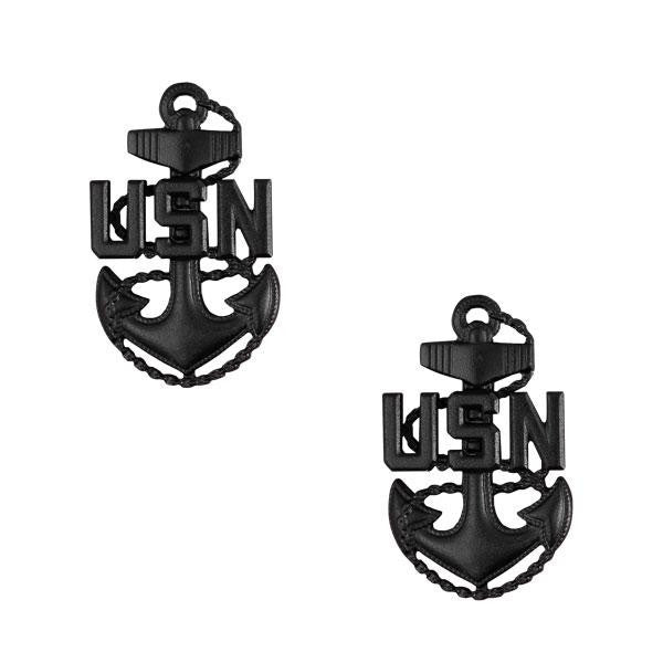 Navy Collar Device: E-7 Corpsman or Seabee - small
