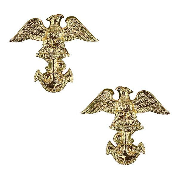 Navy ROTC Collar Device: Midshipman First Class