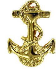 Navy Collar Device: Midshipman Third Class