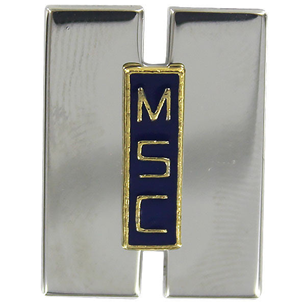 Military Sealift Command Collar Device: Senior Lieutenant