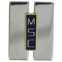 Military Sealift Command Collar Device: Lieutenant