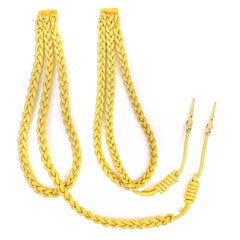 Army Dress Aiguillette: Synthetic Gold