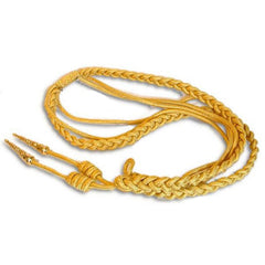 Marine Corps Dress Aiguillette - synthetic gold