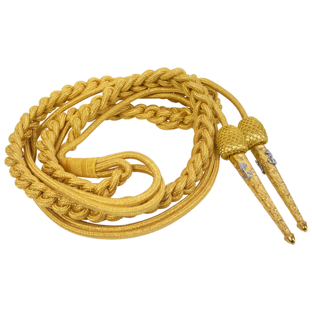 Navy Dress Aiguillette: Aid to President
