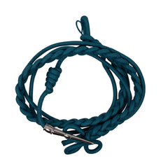 Shoulder Cord: 2720 ROTC Blue with Silver Tip