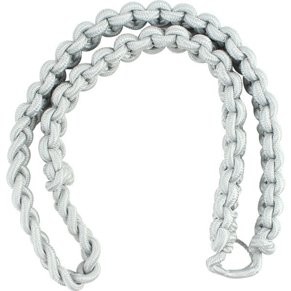 Shoulder Cord: 2723 Interwoven Grey