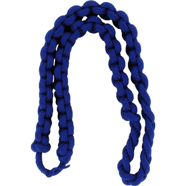 Army Shoulder Cord: 2723 Interwoven One Color Royal Blue - thick