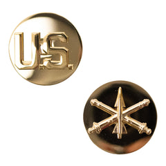 Army Collar Device: US and Air Defense Artillery Enlisted