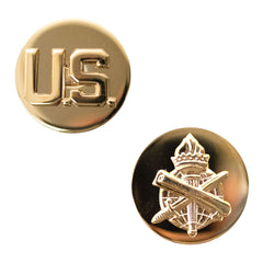 Army Enlisted Branch of Service Collar Device: U.S. and Civil Affairs