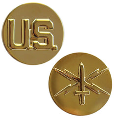 Army Enlisted Branch of Service Collar Device: U.S. and Cyber Warfare